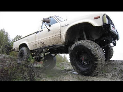 1981 Toyota Pickup 4X4 (5 inch Marlin Crawler lift)