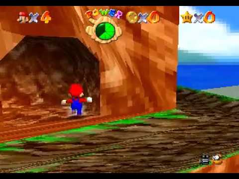 Mario 64 with PS1 style graphics-短片爆報