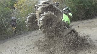 CAN-AM OUTLANDER 650 AND OTHERS PLAYING IN THE MUD!