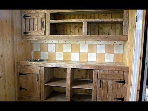 Как сделать мебель в кухне своими руками