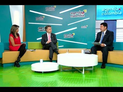 Entrevista al Presidente Juan Manuel Santos en Agenda Colombia - 6 de abril de 2015