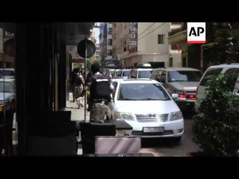 Twelve men arrested suspected of planning terror attack, security forces swoop on hotel