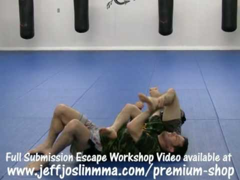MMA Technique - Arm lock Escape : Submission Escape Video Workshop with Jeff Joslin Image 1