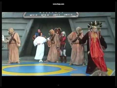 Star wars Girls Dance