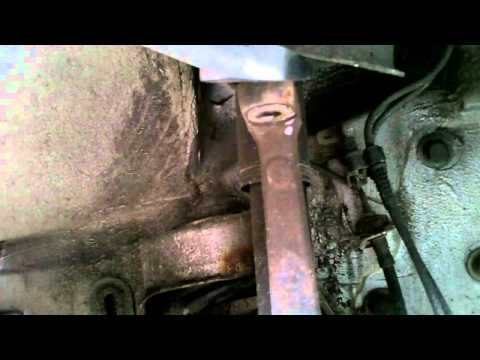 mercedes w202 c-class  how to replace drivers side upper control arm balljoint