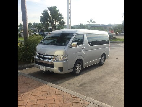 HD 2015 TOYOTA Hiace GL Grandia walk-around Philippines