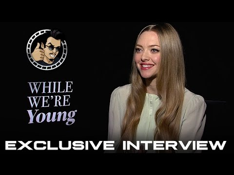 Amanda Seyfried Interview - While We're Young (HD) 2015