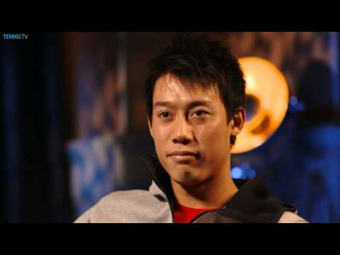 London Finale 2014 Preview Interview Nishikori