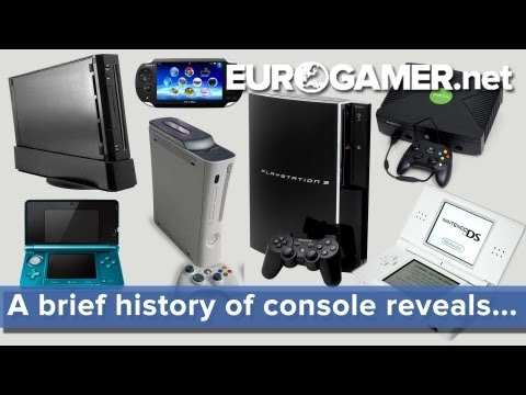 A brief history of console reveals... - Eurogamer