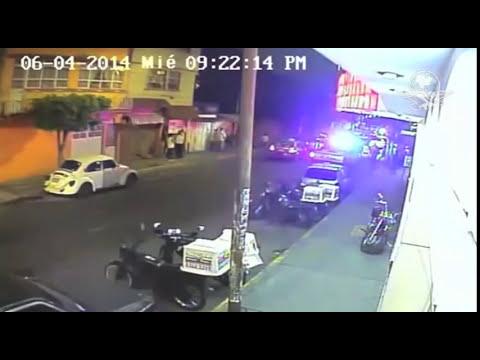 Cámara de seguridad capta asesinato de ´El Bofe´