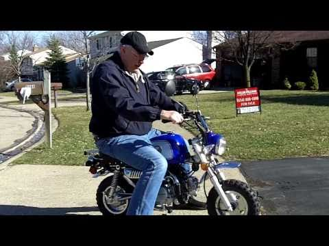 Mini Rover 125 (Honda Z50 Clone) First Spring Ride