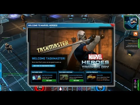 Marvel Heroes - Taskmaster Gameplay (NOT An April Fools Joke!)
