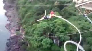 Bungee Cord Snaps, Jumper Falls In Crocodile Infested Waters