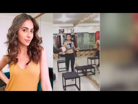 Rakul Preet Singh Workout In Gym Video  | Tollywood Updates | Latest Telugu Movies