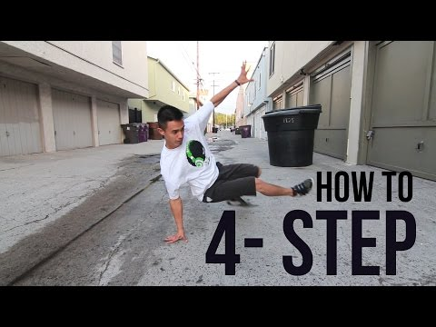 How to Breakdance | 4 Step | Footwork 101 thumbnail