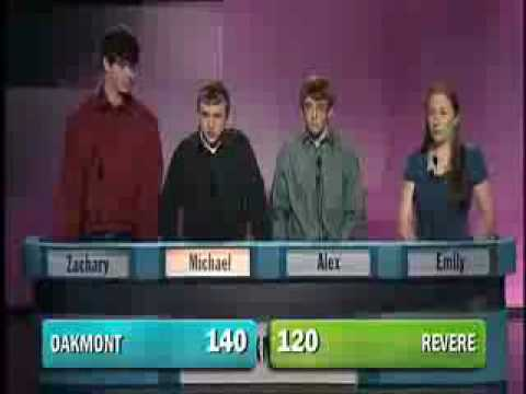 High School Quiz Show Highlight Reel