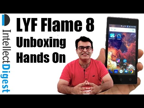 LYF Flame 8 Unboxing | Intellect Digest #1