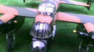large scale RC Lancaster bomber