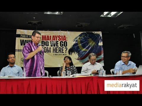 Saifuddin Abdullah: Don't Let Anyone Hijack The Malaysian Narratives