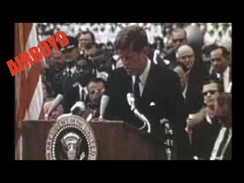 John F. Kennedy Moon Speech (1962) video