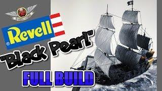 REVELL BLACK PEARL PIRATE SHIP DIORAMA FULL BUIL VIDEO