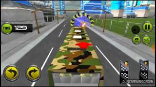 Army Bas Driving 2017 New games