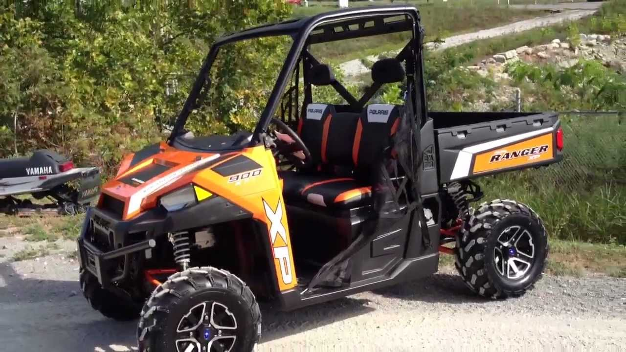 2013 Polaris Ranger Xp 900 Le In Orange Madness At Tommy S