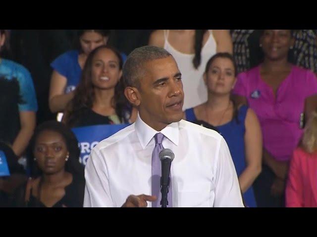 President Obama calls Trump to congratulate him on win