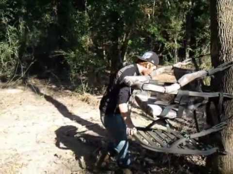 how to use tree climber for deer hunting