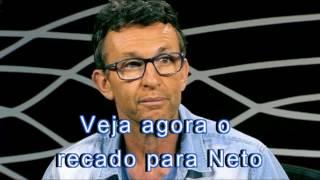 Bolsonaro manda recado para Felipe Melo e Neto