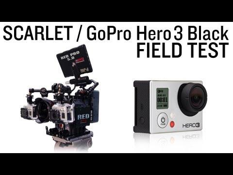 GoPro Hero3 Black @ 2.7k vs. The RED Scarlet Comparison/Low Light Test