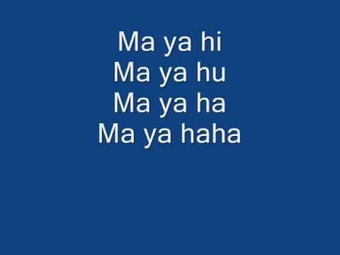 Ma Ya Hi English Lyrics video