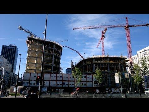 Budowy Wieżowców W Warszawie Cz 1