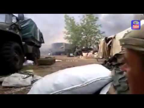The Truth About Ukrainian Civil War - Government forces after rebel artillery strike