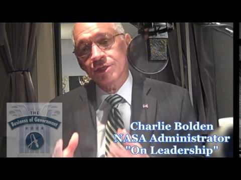 NASA Administrator Charlie Bolden on Leadership