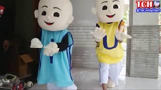 LAGU ANAK-ANAK BINTANG KECIL VERSI UPIN  IPIN  QYLA BERSAMA BADUT UPIN dan IPIN DANCE