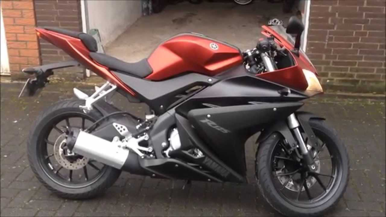 yamaha yzf r125 2014 15 first looks youtube. Black Bedroom Furniture Sets. Home Design Ideas