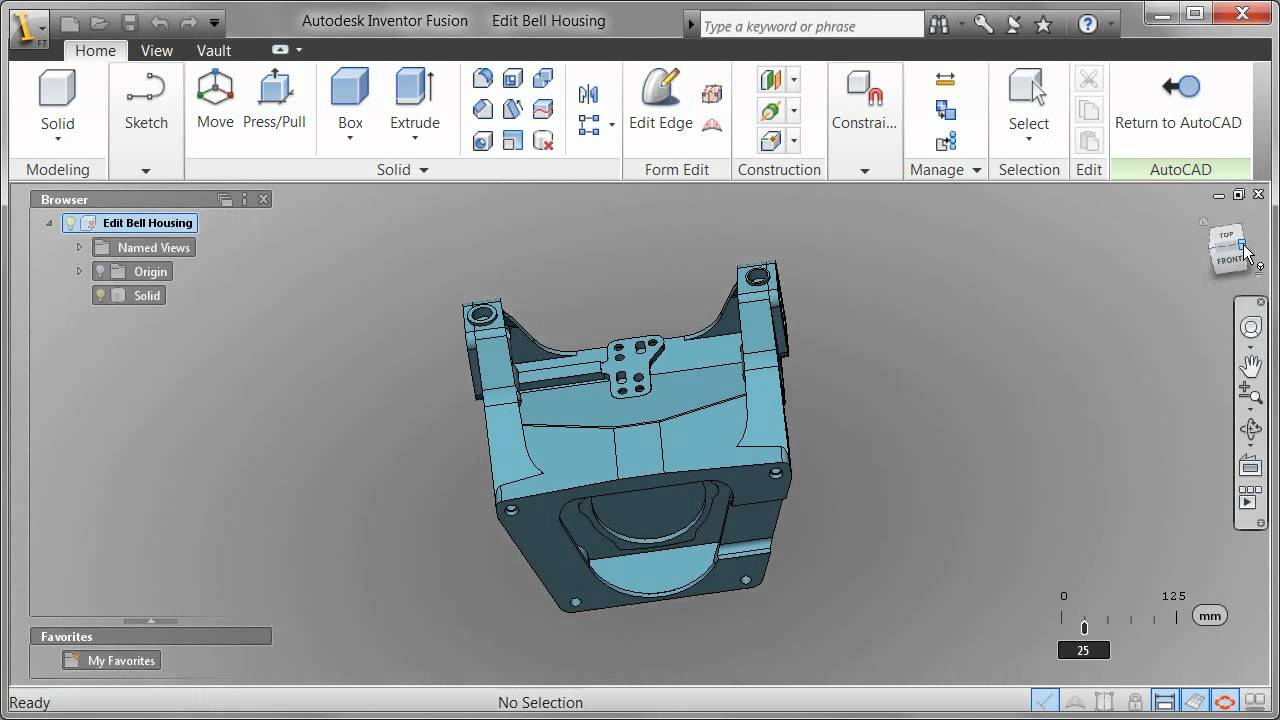 how to create a project in autodesk inventor 2017