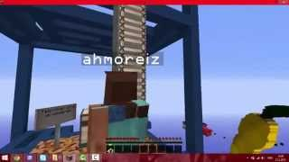 X-run parkur ve Batuhan Alperen Minecraft