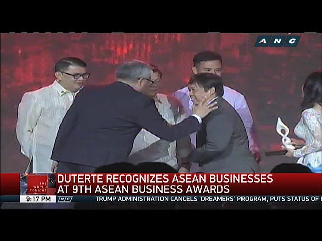 Duterte lauds ASEAN businesses