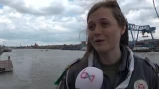 Les scouts marins de la 75e Sea Scouts se rassemblent au canal de Bruxelles