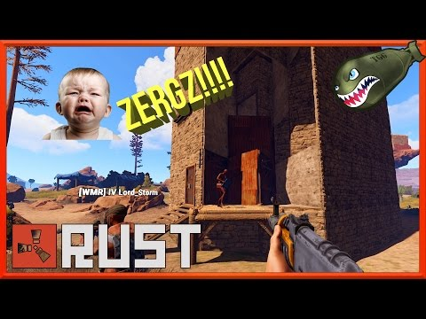 Rust | When People Cry To Much; Blow Em Up! #10 ( Rust Raiding Gameplay)