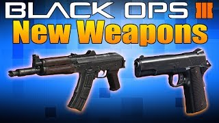 New Weapons in Call of Duty Black Ops 3: AK-74U and 1911