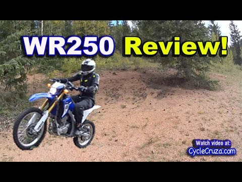 Yamaha WR250r REVIEW - Awesome!   Moto Vlog