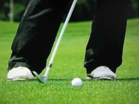 Pablo Larrazábal - 104yd Wedge Shot with Slow Motion of Impact