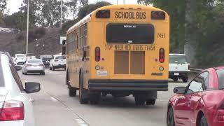 School Bus - SDUSD Amtran RE300 #7457