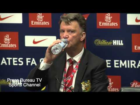 Louis Van Gaal reaction Everton vs Manchester United FA CUP Semi Final