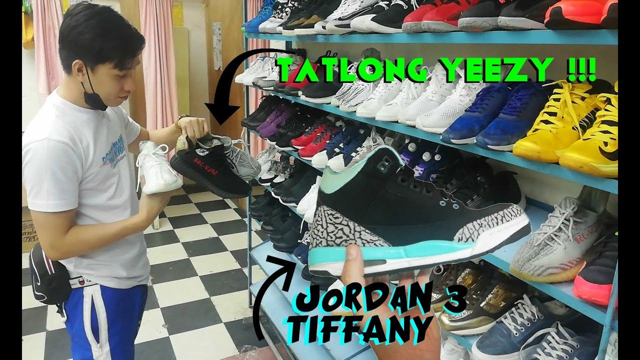 JORDAN 3 TIFFANY / YEEZY / UKAY UKAY HAUL + TRY ON ( UKAY SHOES ) harrison plaza