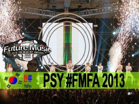 PSY @ Future Music Festival Asia 2013 - Hallyu Special Episode