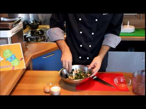 Corso di cucina: preparare le spinacine conn i bambini